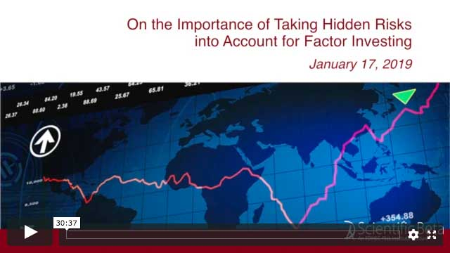 taking hidden risks into account for factor investing webinar