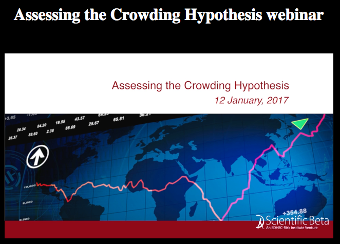 ERI Scientific Beta webcast - assessing the crowding hypothesis