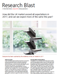 how did the uk market exceed all expectations in 2017