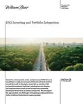 esg investing and portfolio integration