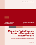 measuring factor exposure better to manage factor allocation better