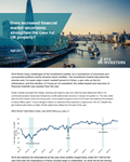 does increased financial market uncertainty strengthen the case for uk property