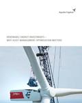 renewable energy investments – why asset management optimisation matters