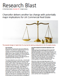 chancellor delivers another tax change with potentially major implications for uk commercial real estate