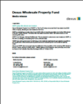 DWPF equity offer attracts new investors