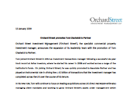 Orchard Street promotes Tom Chadwick to Partner