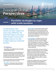 portfolio strategies to cope with trade tensions