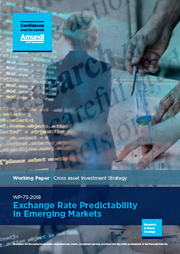 exchange rate predictability in emerging markets