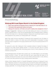 2018 08 07 whih press release warburg hih invest opening london office page 1