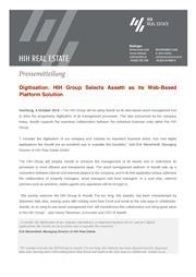 2018 10 04 press release hih group selects assetti as its web based platform solution neu page 1
