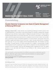 20190102 carsten demmler new head of capital management at warburg hih invest page 1