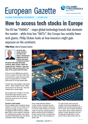 how to access tech stocks in europe
