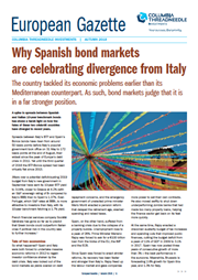 why spanish bond markets are celebrating divergence from italy