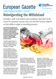 reinvigorating the mittelstand