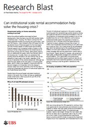 Can institutional scale rental accommodation help solve the housing crisis index