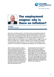 the employment enigma why is there no inflation