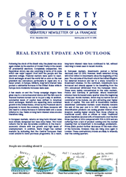 real estate update and outlook