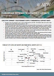 european research monthly update february 2017