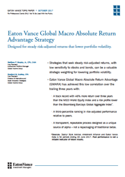 eaton vance global macro absolute return advantage strategy