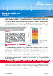 clean growth strategy
