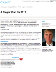 a single wish for 2017