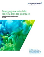 emerging market debt taking a blended approach