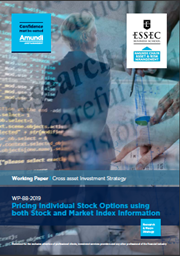 Pricing Individual Stock Options Using Both Stock And Market Index Information