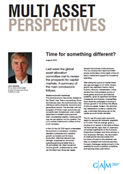 Multi Asset Perspectives: Time for something different? index