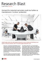 demand for industrial real estate could rise further
