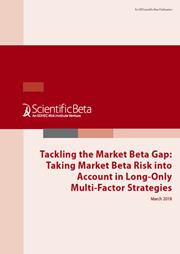 tackling the market beta gap taking market beta risk into account in long only multi factor strategies