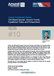 french presidential elections oat bund spread recent trends equilibrium value and perspectives
