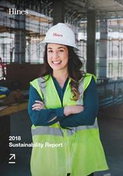 Hines Celebrates Sustainability From The Ground Up With Eighth Report