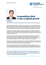 commodities hitch a ride on global growth