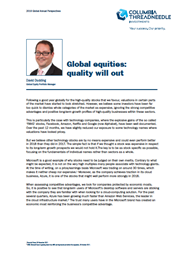 global equities quality will out