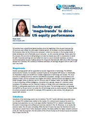 technology and mega trends to drive us equity performance