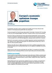 europe economic optimism and fewer wins for the populists