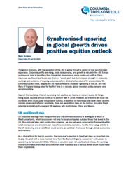 synchronised upswing in global growth drives positive equities outlook
