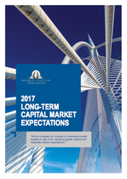2017 long term capital market expectations
