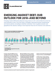 emerging market debt our outlook for 2018 and beyond