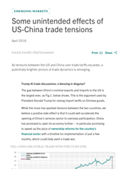 some unintended effects of us china trade tensions