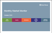Monthly Market Monitor - October 2019
