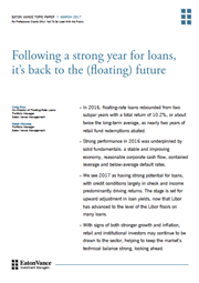 following a strong year for loans its back to the floating future