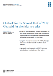outlook for the second half of 2017
