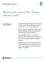 whats to be made of the trump reflation trade