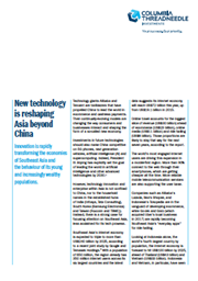 New technology is reshaping Asia beyond China