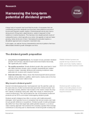 harnessing the long term potential of dividend growth