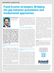 fixed income strategies bridging the gap between quantitative and fundamental approaches