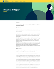 dream or dystopia