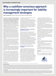 why a cashflow conscious approach is increasingly important for liability management strategies