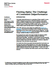 Fleeting Alpha: The Challenge of Consistent Outperformance